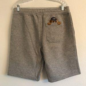 NWT Ralph Lauren Bear gray sweat shorts Medium $99